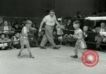 Image of Young boxers New York City USA, 1953, second 22 stock footage video 65675020723