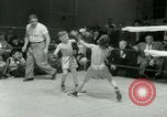 Image of Young boxers New York City USA, 1953, second 25 stock footage video 65675020723