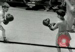 Image of Young boxers New York City USA, 1953, second 26 stock footage video 65675020723