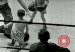 Image of Young boxers New York City USA, 1953, second 37 stock footage video 65675020723