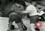 Image of Young boxers New York City USA, 1953, second 59 stock footage video 65675020723