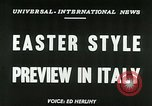 Image of Italian designs Rome Italy, 1953, second 2 stock footage video 65675020728