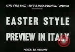 Image of Italian designs Rome Italy, 1953, second 3 stock footage video 65675020728