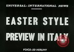 Image of Italian designs Rome Italy, 1953, second 5 stock footage video 65675020728