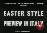 Image of Italian designs Rome Italy, 1953, second 6 stock footage video 65675020728