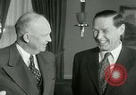 Image of President Dwight Eisenhower Washington DC White House USA, 1953, second 7 stock footage video 65675020732