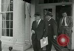 Image of President Dwight Eisenhower Washington DC White House USA, 1953, second 18 stock footage video 65675020732