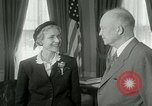 Image of President Dwight Eisenhower Washington DC White House USA, 1953, second 23 stock footage video 65675020732