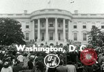 Image of President Dwight Eisenhower Washington DC White House USA, 1953, second 1 stock footage video 65675020734