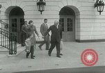 Image of President Dwight Eisenhower Washington DC White House USA, 1953, second 13 stock footage video 65675020734