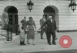 Image of President Dwight Eisenhower Washington DC White House USA, 1953, second 14 stock footage video 65675020734