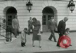 Image of President Dwight Eisenhower Washington DC White House USA, 1953, second 15 stock footage video 65675020734