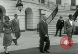 Image of President Dwight Eisenhower Washington DC White House USA, 1953, second 17 stock footage video 65675020734