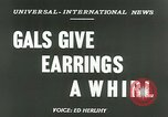 Image of Mobile earrings San Francisco California USA, 1953, second 2 stock footage video 65675020735