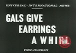 Image of Mobile earrings San Francisco California USA, 1953, second 3 stock footage video 65675020735
