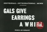 Image of Mobile earrings San Francisco California USA, 1953, second 6 stock footage video 65675020735