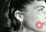 Image of Mobile earrings San Francisco California USA, 1953, second 47 stock footage video 65675020735