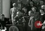 Image of Harry S Truman awards Medal of Honor Washington DC White House USA, 1951, second 5 stock footage video 65675020737