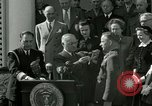 Image of Harry S Truman awards Medal of Honor Washington DC White House USA, 1951, second 6 stock footage video 65675020737