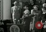 Image of Harry S Truman awards Medal of Honor Washington DC White House USA, 1951, second 8 stock footage video 65675020737