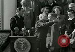 Image of Harry S Truman awards Medal of Honor Washington DC White House USA, 1951, second 12 stock footage video 65675020737
