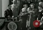 Image of Harry S Truman awards Medal of Honor Washington DC White House USA, 1951, second 13 stock footage video 65675020737