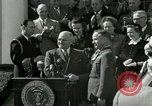 Image of Harry S Truman awards Medal of Honor Washington DC White House USA, 1951, second 18 stock footage video 65675020737