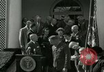 Image of Harry S Truman awards Medal of Honor Washington DC White House USA, 1951, second 22 stock footage video 65675020737