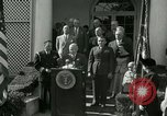 Image of Harry S Truman awards Medal of Honor Washington DC White House USA, 1951, second 26 stock footage video 65675020737