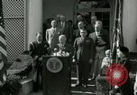 Image of Harry S Truman awards Medal of Honor Washington DC White House USA, 1951, second 27 stock footage video 65675020737