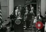 Image of Harry S Truman awards Medal of Honor Washington DC White House USA, 1951, second 28 stock footage video 65675020737