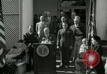 Image of Harry S Truman awards Medal of Honor Washington DC White House USA, 1951, second 29 stock footage video 65675020737