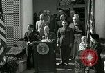 Image of Harry S Truman awards Medal of Honor Washington DC White House USA, 1951, second 31 stock footage video 65675020737