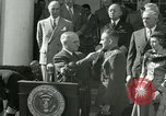 Image of Harry S Truman awards Medal of Honor Washington DC White House USA, 1951, second 33 stock footage video 65675020737