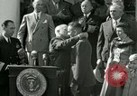 Image of Harry S Truman awards Medal of Honor Washington DC White House USA, 1951, second 37 stock footage video 65675020737