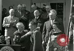 Image of Harry S Truman awards Medal of Honor Washington DC White House USA, 1951, second 39 stock footage video 65675020737