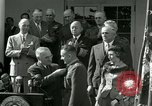 Image of Harry S Truman awards Medal of Honor Washington DC White House USA, 1951, second 40 stock footage video 65675020737