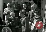 Image of Harry S Truman awards Medal of Honor Washington DC White House USA, 1951, second 44 stock footage video 65675020737