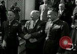 Image of Harry S Truman awards Medal of Honor Washington DC White House USA, 1951, second 45 stock footage video 65675020737