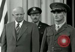 Image of President Dwight D Eisenhower Washington DC USA, 1953, second 14 stock footage video 65675020753