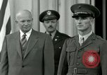 Image of President Dwight D Eisenhower Washington DC USA, 1953, second 15 stock footage video 65675020753