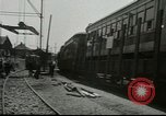Image of American trolley cars Vienna Austria, 1949, second 6 stock footage video 65675020788