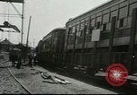 Image of American trolley cars Vienna Austria, 1949, second 7 stock footage video 65675020788