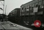 Image of American trolley cars Vienna Austria, 1949, second 8 stock footage video 65675020788