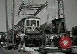 Image of American trolley cars Vienna Austria, 1949, second 24 stock footage video 65675020788