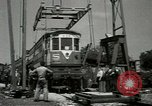 Image of American trolley cars Vienna Austria, 1949, second 27 stock footage video 65675020788