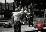 Image of American trolley cars Vienna Austria, 1949, second 29 stock footage video 65675020788