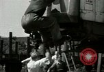 Image of American trolley cars Vienna Austria, 1949, second 30 stock footage video 65675020788