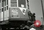 Image of American trolley cars Vienna Austria, 1949, second 36 stock footage video 65675020788