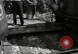 Image of American trolley cars Vienna Austria, 1949, second 43 stock footage video 65675020788